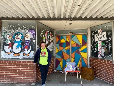 Local artist Tina Edmondson