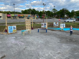 Pop-up Art Plaza to display submissions from Traffic Control Box artwork program.